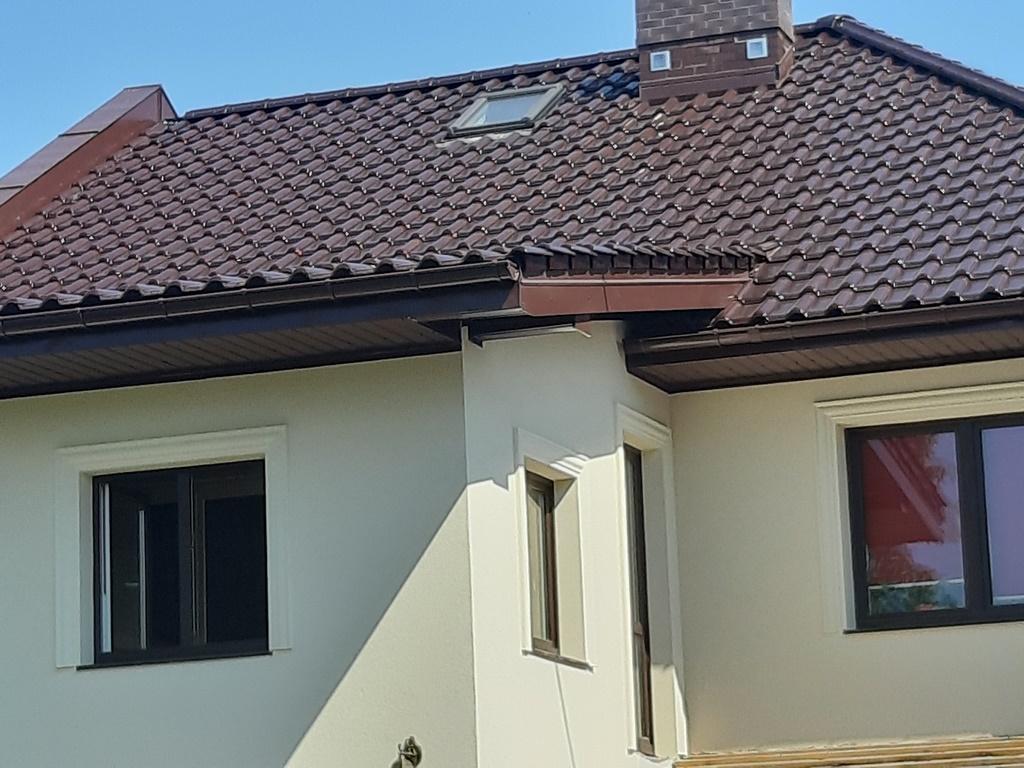 Dachówka Titania brązowa glazurowana